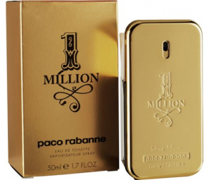 Paco Rabanne Million for Men - 50ml Eau de Toilette.