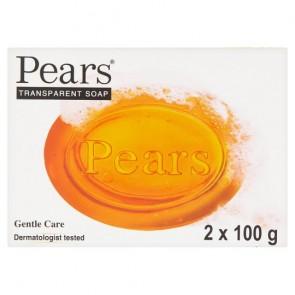Pears Amber Bar Soap 2X100g.