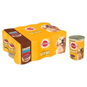 Pedigree Chunks In Gravy Multipack 12X400g