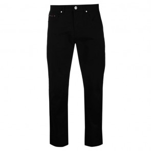 Pierre Cardin 5 Pockets Chinos Mens - Black.