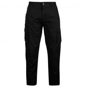Pierre Cardin Cargo Trousers Mens - Black.