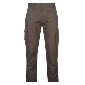 Pierre Cardin Cargo Trousers Mens - Charcoal.