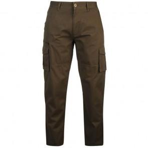 Pierre Cardin Cargo Trousers Mens - Khaki.