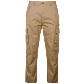 Pierre Cardin Cargo Trousers Mens - Stone.
