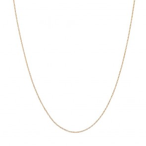 Revere 9ct Yellow Gold Prince of Wales Pendant 18 Inch Chain