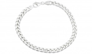 Revere Sterling Silver 8.5 inch Solid Curb Bracelet
