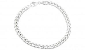 Revere Sterling Silver 8.5 inch Solid Curb Bracelet