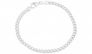Revere Sterling Silver 8 inch Solid Curb Bracelet