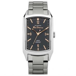 Ben Sherman Men's Silver Coloured Bracelet Watch