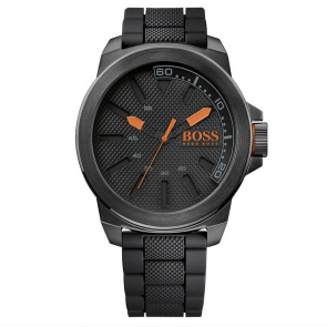 Boss Orange New York Men's Black Strap Watch