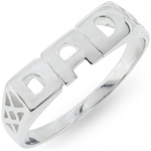 Revere Men's Sterling Silver Dad Ring