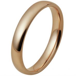 Inara Rose Gold Plated Ceramic Stacking Ring