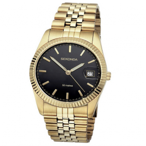 Sekonda Men's Gold Plated Bracelet Watch