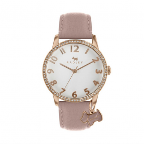 Radley London Ladies Beige Leather Strap Watch