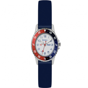 Tikkers Childrens Blue Silicone Strap Watch
