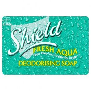 Shield Soap Aqua 4X115g.
