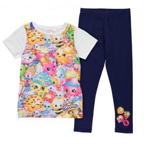Shopkins T Shirt and Legging Girls Set.