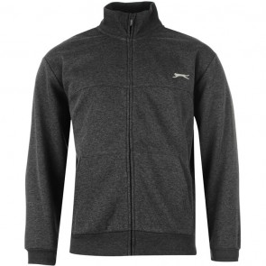 Slazenger Full Zipped Jacket Mens - Charcoal Marl.