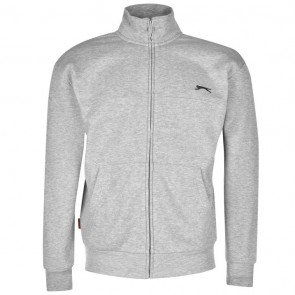 Slazenger Full Zipped Jacket Mens - Grey Marl.
