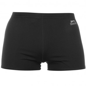 Slazenger Panel Swimming Trunk Mens - Charcoal.