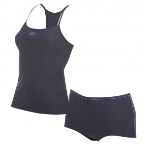 Slazenger Tankini Set Ladies - Navy/OceanBlue.