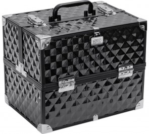 SOHO Digital Diamond Large Black Beauty Case.