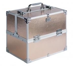 Soho Rose Gold Colour Vanity Case.