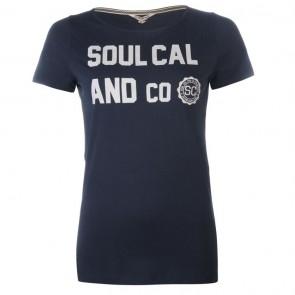 SoulCal Heritage TShirt - Navy.