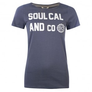SoulCal Heritage TShirt - Ombre Blue.