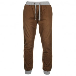 SoulCal Ribbed Waistband Chinos Mens - Coffee.
