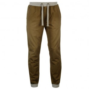 SoulCal Ribbed Waistband Chinos Mens - Khaki.