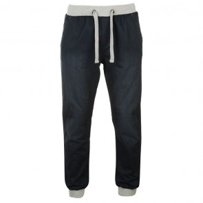 SoulCal Ribbed Waistband Chinos Mens - Navy.