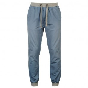 SoulCal Ribbed Waistband Chinos Mens - Wash Light Blue.