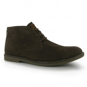 Soviet Mens Desert Boots - Brown.