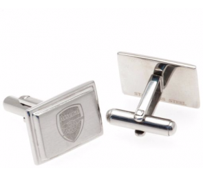 Stainless Steel Arsenal Crest Cufflinks