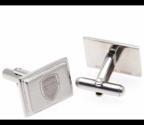 Stainless Steel Arsenal Crest Cufflinks