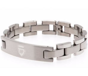 Stainless Steel Arsenal FC Crest Bracelet