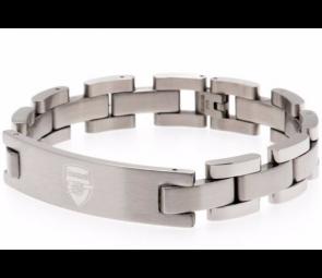 Stainless Steel Arsenal FC Crest Bracelet