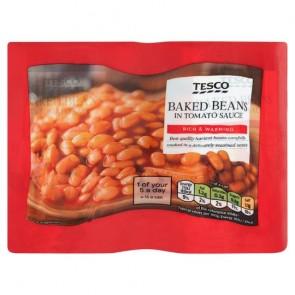 Tesco Baked Beans In Tomato Sauce 4X420g
