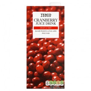 Tesco Cranberry Juice 1L