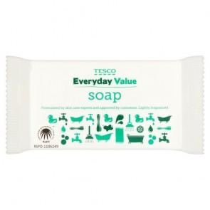 Tesco Everyday Value Soap 125G.