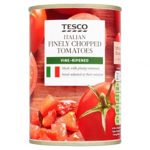 Tesco Finely Chopped Tomatoes 400G