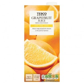 Tesco Grapefruit Juice 1 Litre
