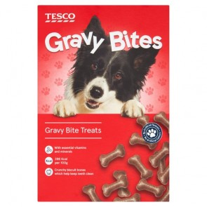 Tesco Gravy Bites Treats For Dogs 400G