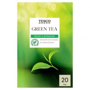 Tesco Green Tea Bags 20'S 50G