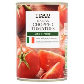 Tesco Italian Chopped Tomatoes 400G