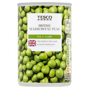 Tesco Marrow Fat Processed Peas 300G