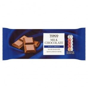 Tesco Milk Chocolate Bar 200G