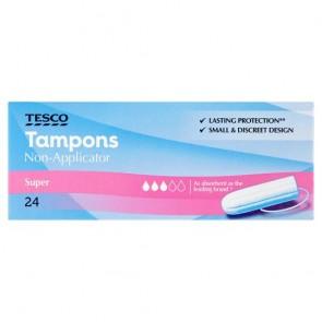 Tesco Applicator Regular Tampons 20 Pack.