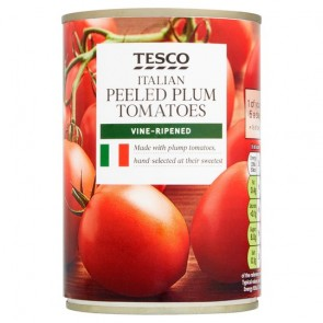 Tesco Plum Peeled Tomatoes 400G